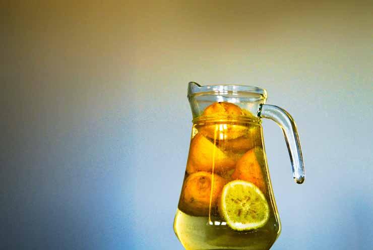 4. Replenishes Your Electrolytes - Lemon Water